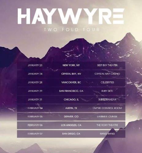 haywyre tour